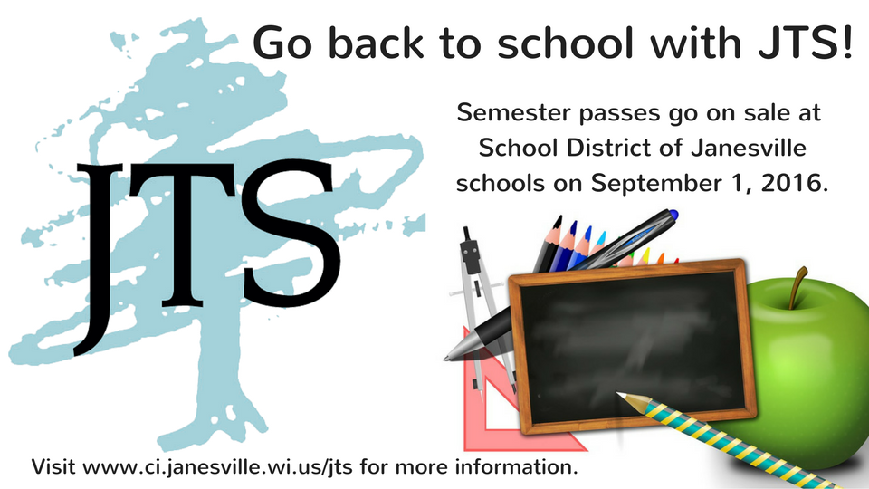 Back to School with JTS