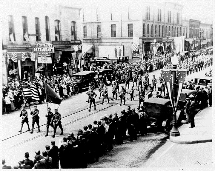 World War 1 Veteran's Parade 1924