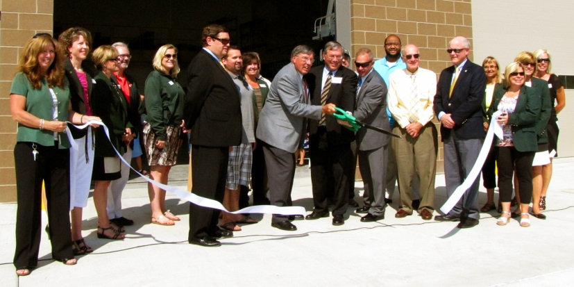 tsc dedication ribbon cutting